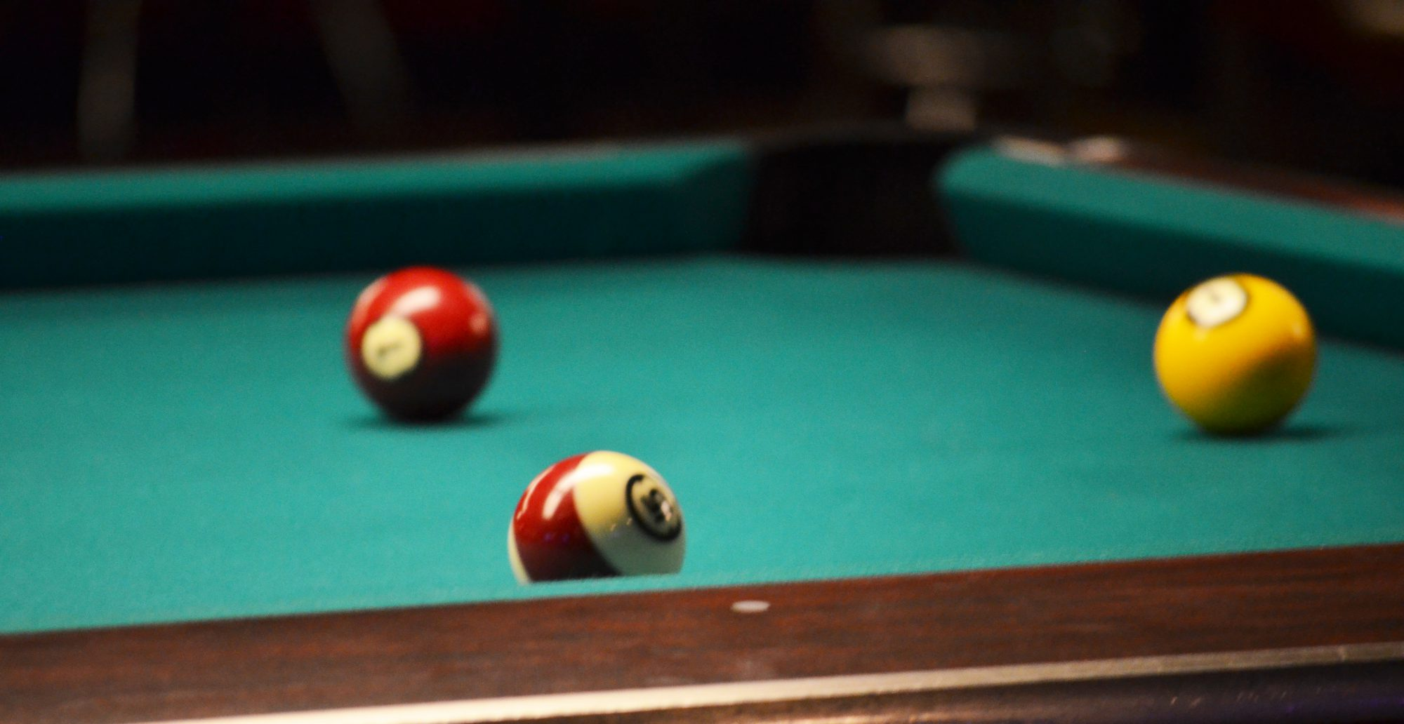 High House Billiards: Open 1pm to 12am 365 days a year